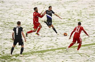 الثلوج توقف مباراة بايرن ميونخ وبيلفيلد في الدوري الألماني