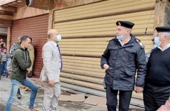 حملات تفتيشية لإعادة الانضباط لشوارع حي عين شمس