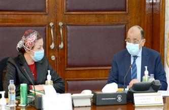 وزيرا التنمية المحلية والبيئة يناقشان مستجدات الخطة التنفيذية لمنظومة إدارة المخلفات| صور