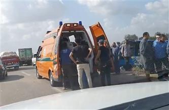 مصرع طالب وإصابة مقاول فى حادثي سير بسوهاج