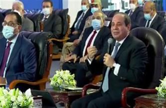 الرئيس السيسي: المشروعات التنموية لتطوير الريف المصري ستسهم في تعزيز الوضع الصحي
