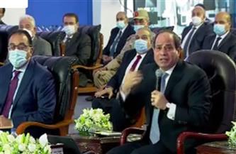 الرئيس السيسي: نحتاح إلى تريليون دولار لمواجهة الزيادة السكانية