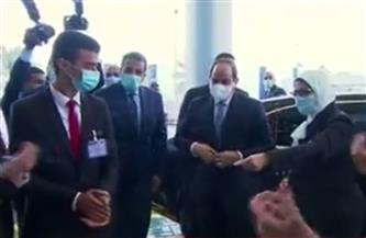 الرئيس السيسي يفتتح المجمع الطبي المتكامل بمحافظة الإسماعيلية