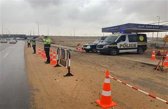 خطة مرورية على الطرق السريعة حفاظًا على أرواح المواطنين أثناء الأمطار | صور