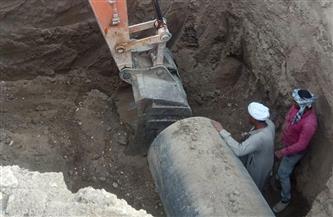 رئيس مركز القرنة بالأقصر يعلن بدء المرحلة النهائية بمشروع الصرف الصحي بالطارف | صور