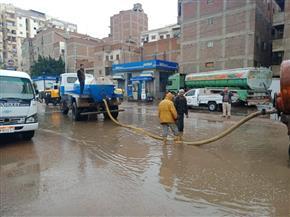 أمطار غزيرة ورياح شديدة على مدن وقرى كفر الشيخ | صور