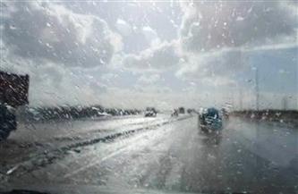 سقوط أمطار ثلجية على محافظة دمياط