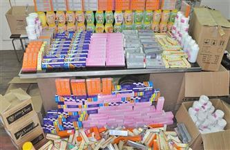 ضبط مصنع مستحضرات تجميل بدون ترخيص يستخدم خامات رديئة ومجهولة بالقاهرة