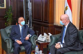 محافظ الإسكندرية يستقبل سفير إسبانيا بالقاهرة لبحث سبل التعاون | صور