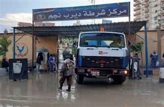 طوارئ شركات مياه الشرب والصرف الصحي لمواجهة الأمطار | صور