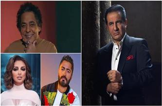 أنغام والكينج وتامر حسني يُشيدون بعودة محمد ثروت بأغنية «يا مستعجل فراقي» | صور