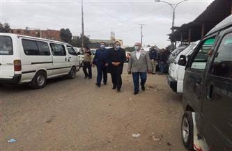 محافظ الشرقية يتفقد عددا من شوارع بلبيس ويتابع أعمال الرصف والتجميل | صور