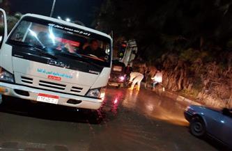 كفر الشيخ تتعرض لأمطار غزيرة.. والمحافظ يوجه باستمرار رفع درجة الاستعداد لمواجهة سوء الأحوال الجوية| صور