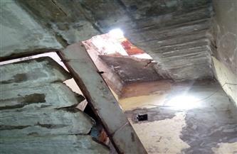 تعرض أحدها لميل بسيط.. انهيارات داخلية في 3 عقارات بالإسكندرية | صور