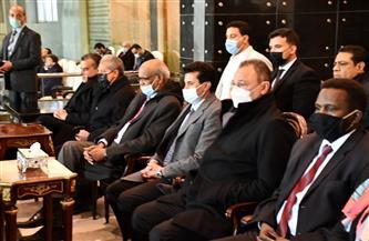 وزير الرياضة يهنئ الأهلي بعد تغلبه علي المريخ السوداني بثلاثية نظيفة