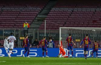 هدف لهدف.. نهاية الشوط الأول بين برشلونة وباريس سان جيرمان | صور