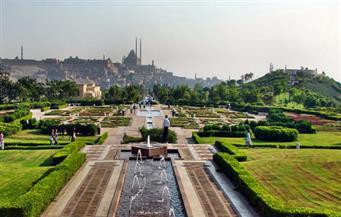 حديث الصور: حديقة الأزهر.. جنة فى قلب القاهرة