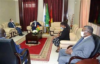 سفير مصر في كوناكري يلتقي رئيس جمهورية غينيا بيساو | صور