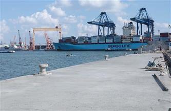 ميناء الإسكندرية يستقبل 112 ألف طن بضائع استراتيجية خلال 24 ساعة