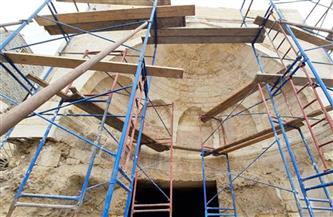 الأعلى للآثار يبدأ أعمال ترميم سبيل الأمير شيخو بالحطابة المجاورة لقلعة صلاح الدين