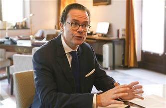السفير الفرنسي بالقاهرة: أمن بلادنا يبدأ في مصر