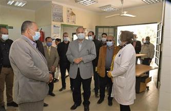 محافظ أسيوط يتفقد مستشفى الحميات ومجمع الخدمات ومركز الشباب بقرية الشامية بساحل سليم | صور