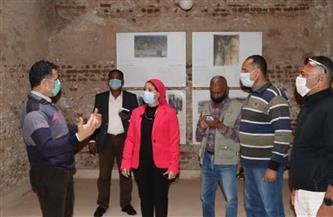نائبة محافظ البحر الأحمر تتفقد المشروعات بمدينة القصير| صور