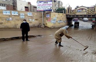 المنوفية تشهد موجة من الطقس السيئ وسقوط الأمطار لليوم الثاني| صور