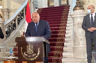 سامح شكرى: اتفقنا على تكثيف التعاون مع باكستان لمواجهة الإرهاب