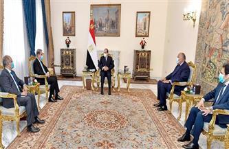 الرئيس السيسي: مصر ترحب بتطوير التعاون الثنائي وتبادل الخبرات مع باكستان