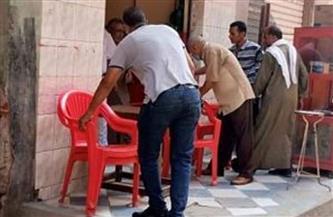 غلق وتشميع 12 مقهى مخالفا لتعليمات الحماية من الكورونا بالشرقية | صور