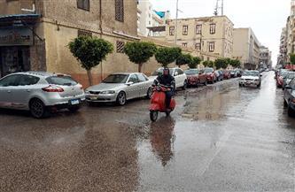 شاهد.. أمطار ورياح وموجة من الطقس السيئ تضرب بورسعيد