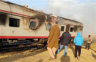 «السكة الحديد» تكشف تفاصيل حريق قطار (السويس - القاهرة)