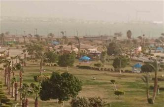 إغلاق ميناءي السويس والزيتيات لسوء الأحوال الجوية وأمطار على الأحياء السكنية | صور