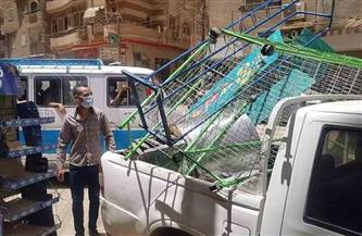ضبط 55 مخالفة مرافق في حملة بسوهاج