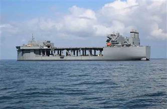 """السفينة الحربية الأمريكية """"يو إس إس هيرشل"""" تصل كينيا"""