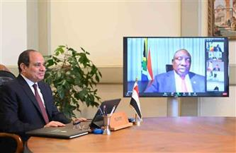 موقع الرئاسة ينشر فيديو كلمة الرئيس السيسي في اجتماع هيئة مكتب قمة الاتحاد الإفريقي
