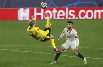 بروسيا دورتموند يعود بفوز مقلق من إسبانيا على إشبيلية بدوري الأبطال