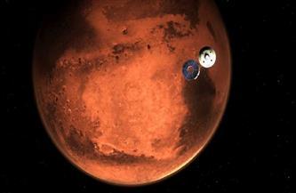 """مركبة الفضاء """"برسيفيرانس"""" تهبط على المريخ بعد رحلة استغرقت 7 أشهر قطعت خلالها 472 مليون كيلومتر"""