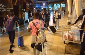 بعثة راسينج كلوب تصل القاهرة استعدادًا لمواجهة بيراميدز| صور