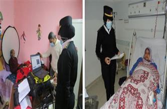 «الأحوال المدنية» يوجه مأمورية لتجديد بطاقة مريضين