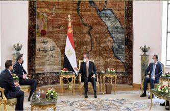 الرئيس السيسي والدبيبة يتوافقان على استعادة الأمن والتعاون الاقتصادي وتأهيل الكوادر الليبية بمختلف المجالات