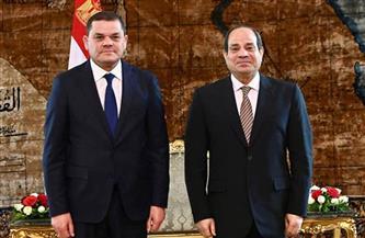 الرئيس السيسي: مصر حريصة على دعم الشعب الليبي لاستكمال آليات إدارة بلاده