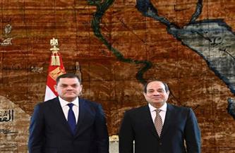بعد مباحثات ناجحة للرئيس مع الدبيبة.. كيف تحافظ القاهرة على وحدة واستقرار ليبيا من الأطماع الخارجية؟