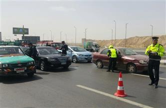 تحرير 460 مخالفة مرورية في حملة على الطرق بالغربية