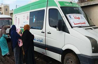 الكشف على 1203 مواطنين في قافلة طبية بقرية الكاشف الجديد بدمياط |صور