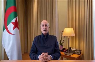 رئيس الجزائر: نشعر بالارتياح والاطمئنان لما توصل إليه الأشقاء الليبيون