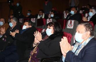 وزيرة الثقافة تفتتح الجناح المتحفي بالسلام بالتزامن مع 7 آخرين فى مسارح الدولة| صور