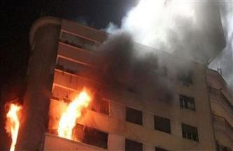 إصابة آيات وشقيقتها في حريق منزلهما بحلوان
