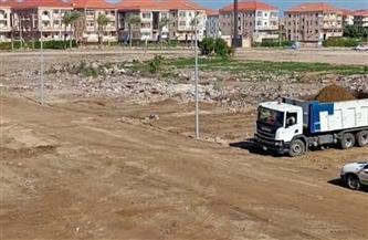 رفع 50 ألف طن قمامة من منطقة الامتداد العمراني في رأس البر| صور